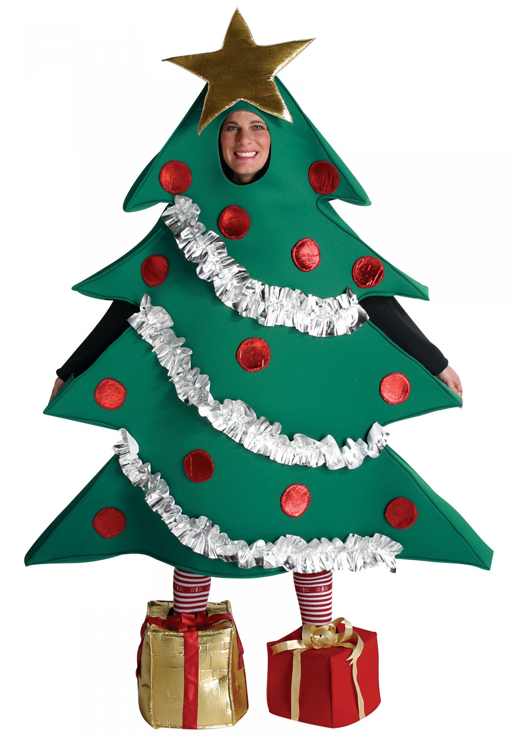 Deguisement Sapin De Noel Femme Déguisement sapin de Noël humoristique adulte – Déguisements